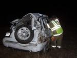 Rollover west of Dixon injures Crocker man