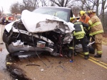 Two head-on wrecks kill two, injure seven
