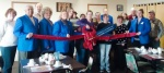 Ribbon cutting for Ray of Sunshine Café